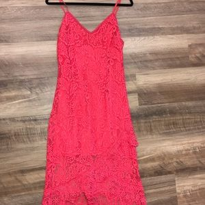 BB Dakota Lace Cocktail Dress